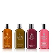 molton brown 4 piece his hers bathing collection qvc uk