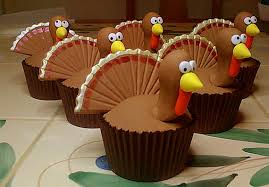 easy adorable thanksgiving cupcake decorating ideas family