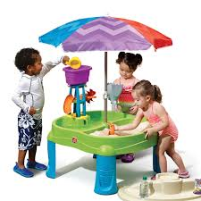 step 2 water table with umbrella splash scoop bay with umbrella by step2 is one of most popular