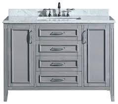 melville marble bathroom vanity cocoa 48