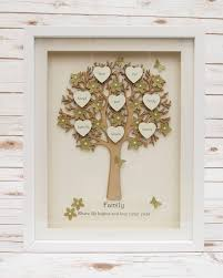 a stunning medium sized family tree frame the tree is cut from