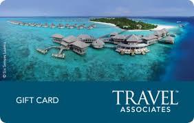 gift card for travel 200 gift voucher for travel associates australia