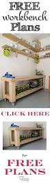 Plans For Building A Wood Workbench by Best 25 Diy Workbench Ideas On Pinterest Work Bench Diy Small