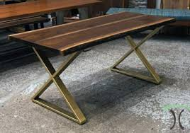 Kitchen Table Desk by Live Edge Slab Dining Tables Walnut Slabs And Tops