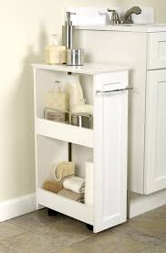 White Freestanding Bathroom Furniture by Bathroom Bathroom Vanity With Bathroom Wall Cabinet Organizer And