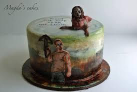 walking dead cake ideas the best cakes celebrate the walking dead