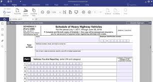 form 2290 tax computation table irs form 2290 fill it without stress