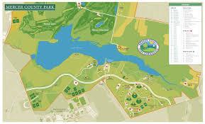mercer map mercer county park map mercer county park mercer county nj usa