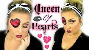 queen of hearts makeup tutorial youtube