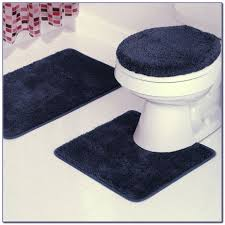 Bathroom Rugs Ideas Navy Blue And White Bathroom Rugs Rugs Home Design Ideas