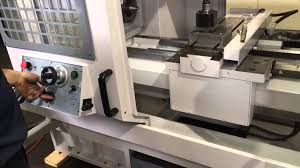 milltronics cnc manual flat bed toolroom lathe youtube