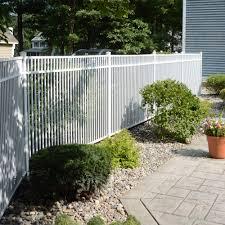 aluminum fence security fence travertine activeyards
