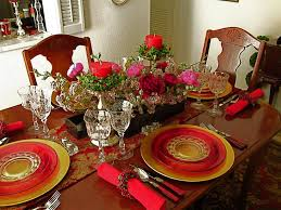 dining table decoration ideas christmas decoraci on interior
