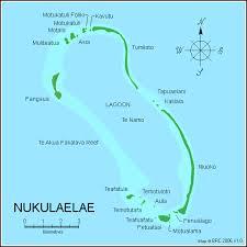 map of tuvalu map nukulaelae atoll