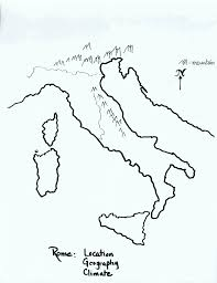 drawn map ancient rome pencil and in color drawn map ancient rome