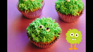 how to make monster cupcakes halloween youtube