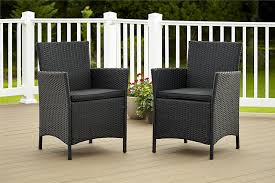 Outdoor Wicker Chairs With Cushions Amazon Com Cosco Dorel Industries Outdoor Jamaica Resin Wicker