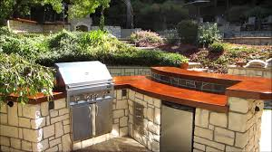 eldorado hills outdoor kitchen with wood burning fireplace by gpt