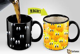 funny coffee mug magic coffee mugs travel mug heat sensitive color changing