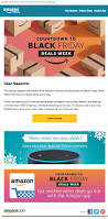 amazon black friday starts black friday email design 5 things to avoid email design workshop