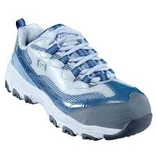 womens skechers boots sale skethers d lites lace up alloy toe casual work shoes 76442