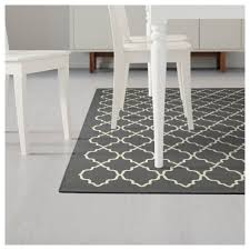 hovslund rug low pile dark grey 160x230 cm ikea
