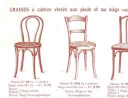siege thonet authentique chaise de bistrot thonet n 18 début xxème siècle bois