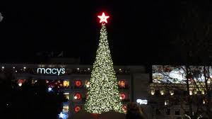 christmas lights san francisco tree lighting ceremony union square san francisco california 2016