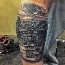 new york skyline tattoo 1000 geometric tattoos ideas