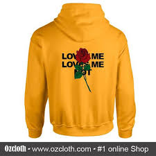 yellow rose hoodie on the hunt