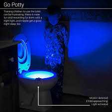 toilet light motion activated toilet led night light