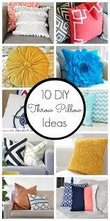Home Decor Throw Pillows Best 25 Diy Pillows Ideas On Pinterest Sewing Pillows Sewing