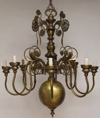 Chandelier Antique Brass Brass Chandeliers Collection On Ebay