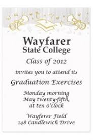 graduation quotes for invitations graduation party invitation wording orionjurinform