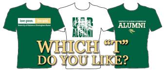 alumni tshirt uab alumni affairs vote for your favorite t shirt