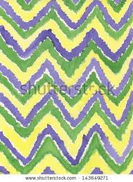 purple and white watercolor chevron wallpaper stock images