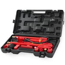 porta auto hydraulic 10 ton frame repair kit porta power tools auto shop