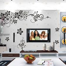 popular butterfly factory buy cheap butterfly factory lots from factory direct diagonal black butterfly flower vine wall stickers home decor in europe and black tv
