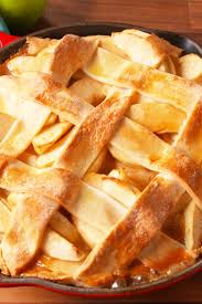 best caramel apple skillet pie recipe how to make caramel apple