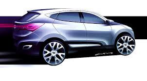 is hyundai tucson a car hyundai hed 6 concept car for tucson by car magazine
