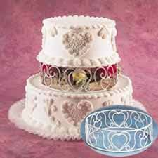 wire lace wire lace cake separator ring wilton