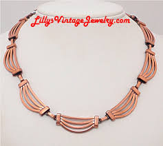 copper necklace images Vintage costume signed necklaces r s JPG