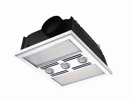 bathroom exhaust fan with led light and heater u2022 exhaust fans