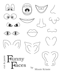 missie krissie blog funny faces for kids use for pumpkin face