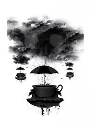 storm in a teacup alex keating artist surrealism art storm outside a teacup