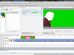 video editor kdenlive how to use the chromakey effect properly