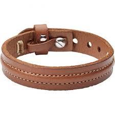 fossil steel leather bracelet images Fossil bracelets jpg