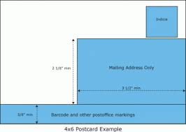 postcards and the usps rules sizes and fixes printing mail