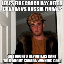 Morning After Meme - leafs firing coach the morning after imgflip