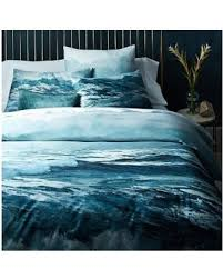 Duvet Cover Teal Deal Alert West Elm Oceanscape Duvet Cover Full Queen Blue Teal